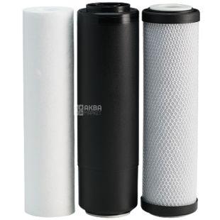 Ecosoft, Комплект картриджей для фильтров обратного осмоса 1-2-3 этапа очистки