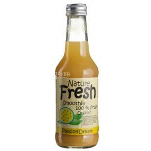 Natur Fresh, Passion Dream, Маракуйя, 0,25 л, Натур Фреш, Смузи органический