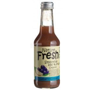 Natur Fresh, Blueberry Dream, Черничный, 0,25 л, Натур Фреш, Смузи органический