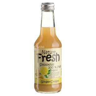 Natur Fresh, Ginger Dream, Имбирный, 0,25 л,  Натур Фреш, Смузи органический