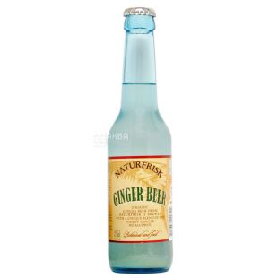 Naturfrisk, Ginger Beer, 275 мл, Натурфриск, Имбирное пиво, напиток безалкогольный, газированный, стекло