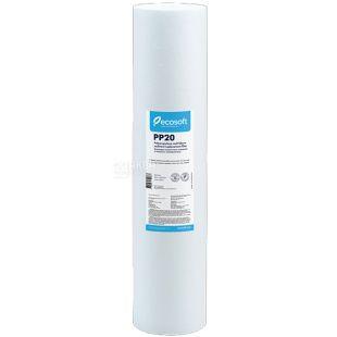 Ecosoft РР20, Картридж из вспененного полипропилена 20 мкм, 2,5*10