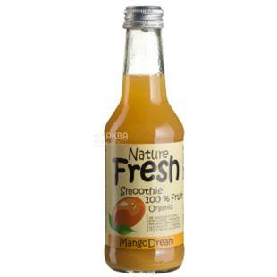 Natur Fresh, Mango Dream, Манго, 0,25 л, Натур Фреш, Смузи органический