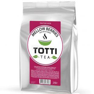 TOTTI Tea, Mellow berries, 250 г, Чай тотти, Сочные ягоды, фруктовый с каркадэ