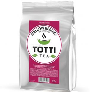 TOTTI Tea, Mellow berries, 250 g, Totti tea, Juicy berries, fruity with carcade