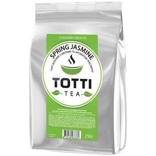 TOTTI Tea, Spring Jasmine, 250 г, Чай Тотти, Весенний Жасмин, зеленый