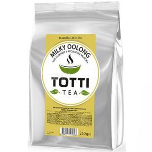 TOTTI Tea, Milky Oolong, 250 г, Чай Тотті, Молочний улун, зелений