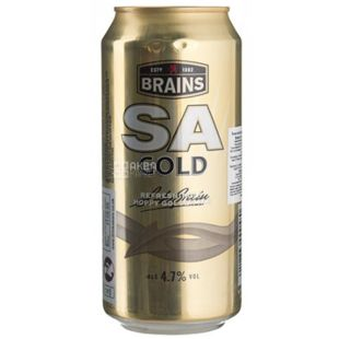 Beer SA Gold 0,44 l, TM Brains