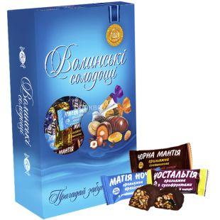 Волинські Солодощі, Грильяж, набір цукерок, 500 г