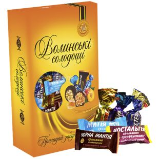 Volyn Sweets, For tea, a set of sweets, 500 g