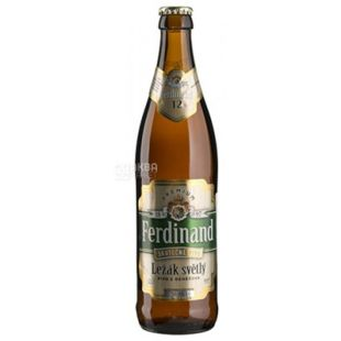 Beer light Premium Lager, 500 ml, TM Ferdinand