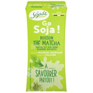 ojade Go Soja The Matcha Organic, 200 мл, Сояде, Напій соєвий, Чай Матча, органічний, безлактозний