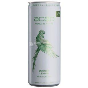 Acao Quince and Lemon, 0,25 л, Напій енергетичний Квінс энд Лемон, Айва-Лемон
