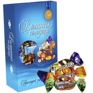 Волинські Солодощі, Чорнослив і Курага, набір цукерок, 500 г