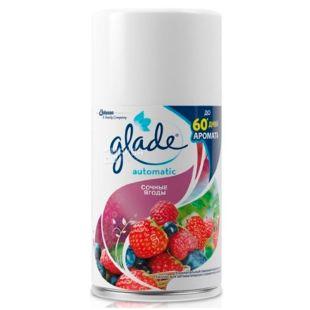 Glade Сочные ягоды, Автоматический освежитель воздуха, сменный баллон, 269 мл