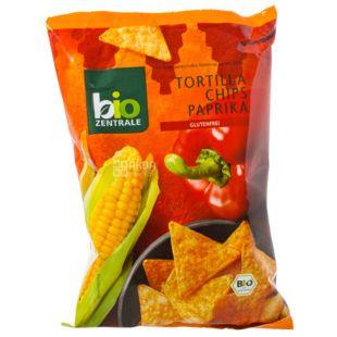 Коржики кукурузные с паприкой, органические, 50 г, ТМ Bio Zentrale