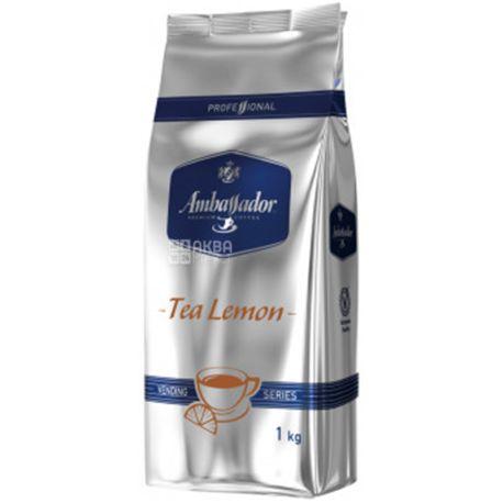 Ambassador Tea Lemon, Vending Series, 1 кг, Чай з лимоном Амбассадор для вендингу