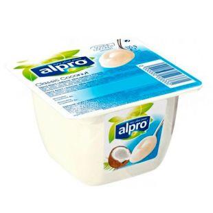 Alpro, Classic Coconut, 125 г, Алпро, Десерт Кокосовый, соевый йогурт