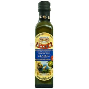 Eleon, Extra Virgin Classic, Масло оливковое, 500 мл, стекло