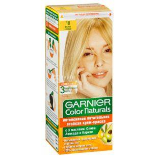 Garnier Color Naturals, Крем-краска для волос, Оттенок №10, Белое солнце