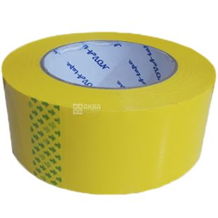 Adhesive tape, 48 mm x 160 m, yellow, TM Promtus