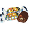 Volyn Sweets, Figs with walnuts in chocolate, sweets, 500 g