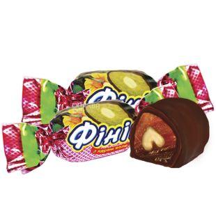 Волинські Солодощі, Фінік з волоським горіхом в шоколаді, цукерки, 500 г