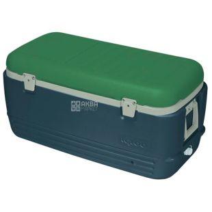 Изотермический контейнер сине-зеленый, 95 л, ТМ Igloo
