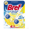 Bref Strength Active, Lemon Freshness, Toilet blocks, 50 g