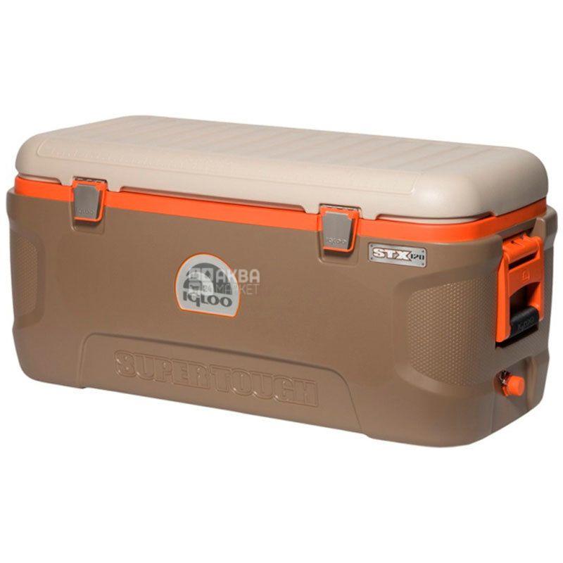 Igloo Super Tough Professional, Изотермический термо контейнер, хаки, 113 л