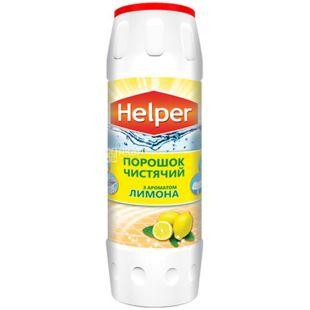 Helper, Чистящий порошок с ароматом лимона, 500 г