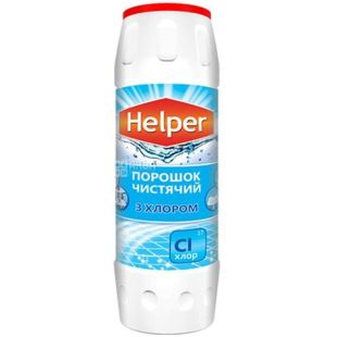 Helper, Чистящий порошок с хлором, 500 г
