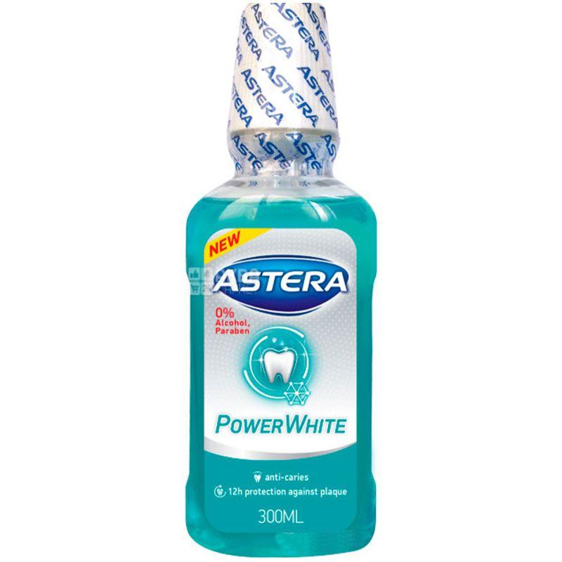 Astera Xtreme Power White, 300 мл, Ополіскувач для порожнини рота, Ментол