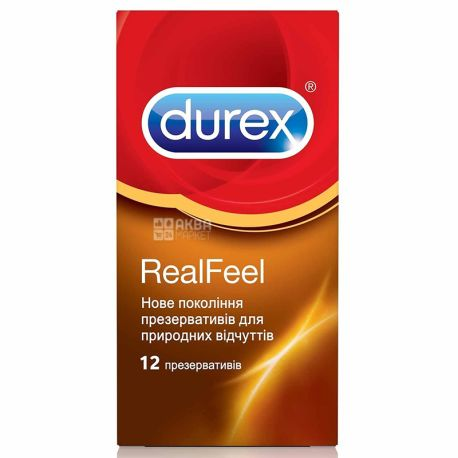 Dureх, Презервативы, Real Feel №12