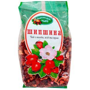 Карпатський чай, Шипшина, 100 г, Чай з плодів ягід і трав