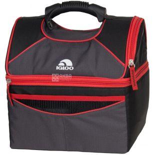 Igloo Playmate Gripper-16, Cooler bag, black and red, 10 l