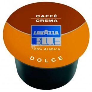 Lavazza, BLUE Crema Dolce, 1 шт., Кава Лаваца, Блу Крему Дольче, середнього обсмаження, в капсулах