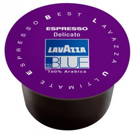 Lavazza, Blue Espresso Delicato, 1 шт., Кофе Лавацца, Блу Эспрессо Деликато, средней обжарки, в капсулах