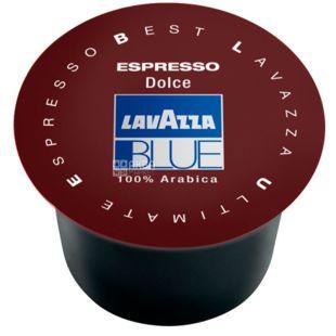 Lavazza, Blue Espresso Dolce, 1 шт., Кофе Лавацца, Блу Эспрессо Дольче, средней обжарки, в капсулах