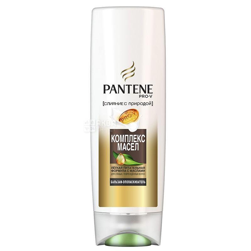 Pantene Pro-V, Oil Therapy, Бальзам-ополаскиватель для поврежденных волос, Комплекс масел, 360 мл