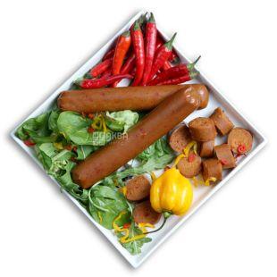 Закуска веганская Chorizo, 40 г, ТМ Veggyness