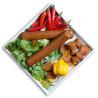 Закуска веганська Chorizo, 40 г, ТМ Veggyness