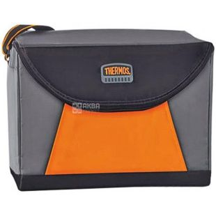 Сумка-холодильник Geo Trek, серо-оранжевая, 20 л, TM Thermos