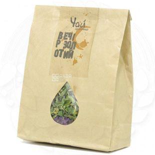 Живая земля Потуторы, Вечер золотой, 30 г, Чай травяной с лепестками ромашки и васильков, органический