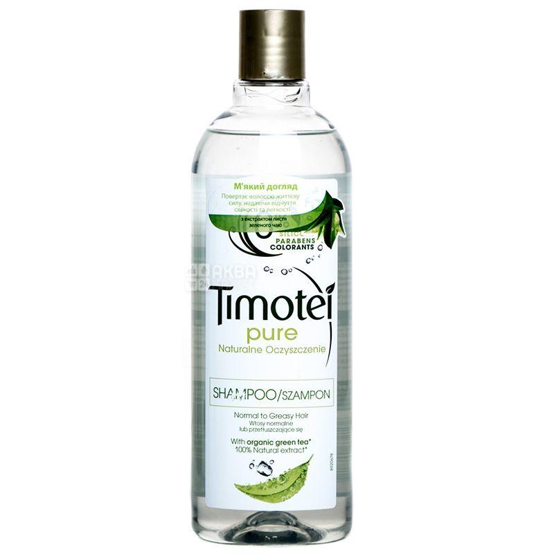 Timoteі, Мягкий уход, Шампунь для нормальных и жирных волос, 400 мл