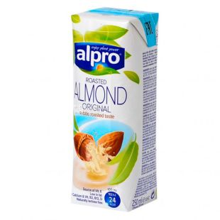 Alpro Almond, Almond Milk, 250 ml
