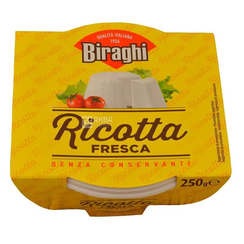 Biraghi Ricotta Fresca, Сир, 250 г
