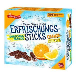 Griesson Orange Zitrone, Шоколадные палочки, 150 г