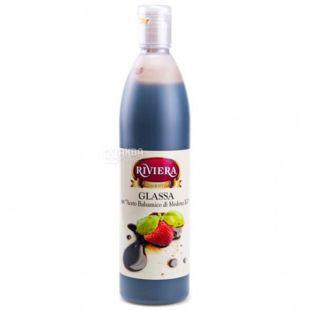 Balsamic cream sauce, 500 ml, TM Riviera Glassa