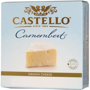Cheese soft Camembert, 50%, 125 g, TM Castello